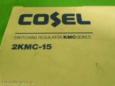 Cosel switching regulator kmc series