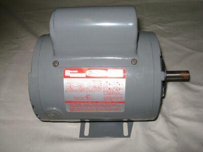 Dayton capacitor start motor ac 1hp 6k246 for Dayton capacitor start motor