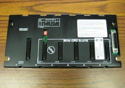 Ge fanuc IC693CHS398H 5 slot expansion IC693CHS398-h