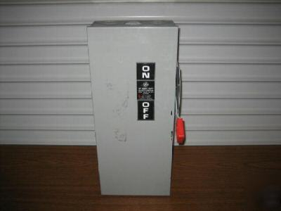 Ge general electric TH3363 disconnect switch 100 amp 10