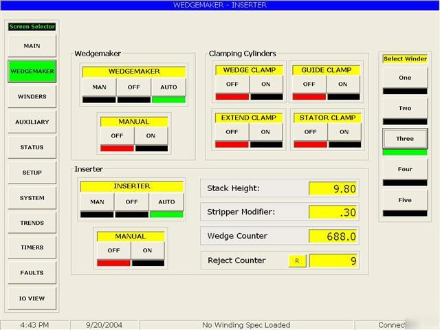 Hmi custom software design with one plc driver