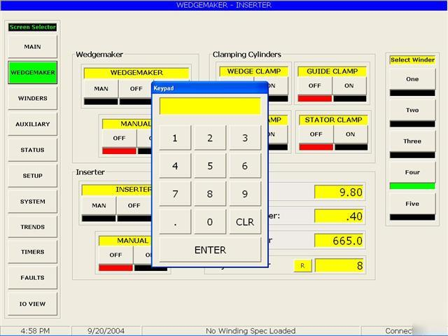 Hmi custom software design with one plc driver for Commercial design software