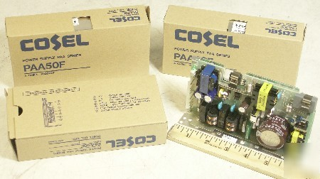 New 3 - cosel PAA50F 12V 4.3A dc switching power supply