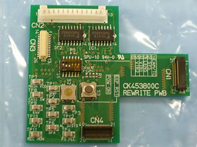 New CK453800C pw board assembly