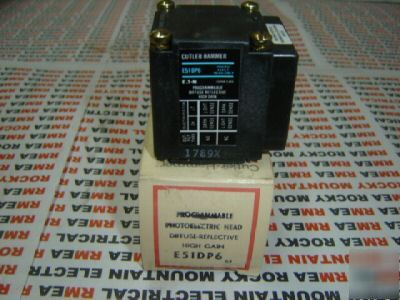 New cutler hammer photoelectric sensor head E51DP6