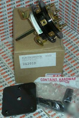 New electroswitch rotary switch 24201D