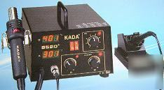 New kada 852D+ digital display smt smd soldering 2 in 1