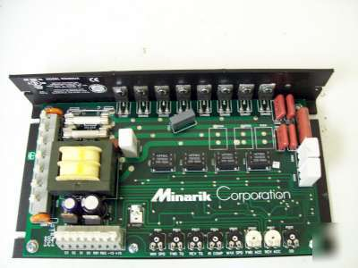 New minarik rg400ua motor controller for dc brush motor for Industrial dc motor controller