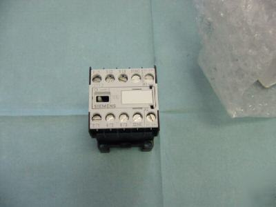 New siemens model: 3TF2001-0BB4 starter contactor, <