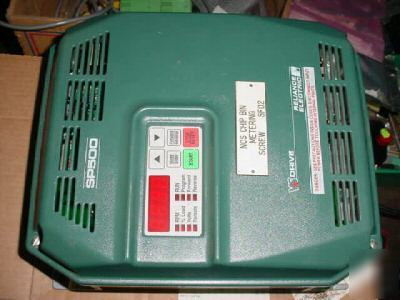 Reliance electric 1SU51010 SP500 vs drive 10 hp