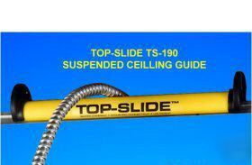 Seatek ts-190 top-slide ceiling cable guide