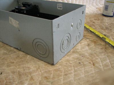 Siemens 125 amp outdoor load center 120/240 3 wire 1 ph