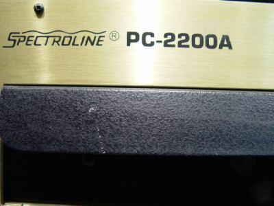 Spectoline pc-2200A uv eprom/wafer erasing system