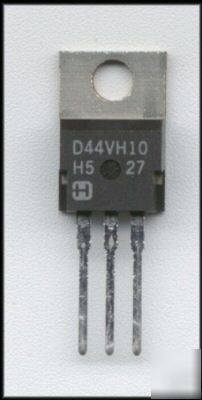 44VH10 / D44VH10 / comp silicon power transistors