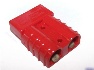 5 anderson power products 6331G1 sb 50A red connectors
