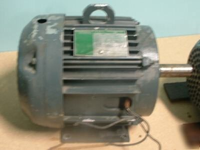 7 5hp 3 phase lincoln ac electric motor odp 575 volt for 7 5 hp 3 phase motor