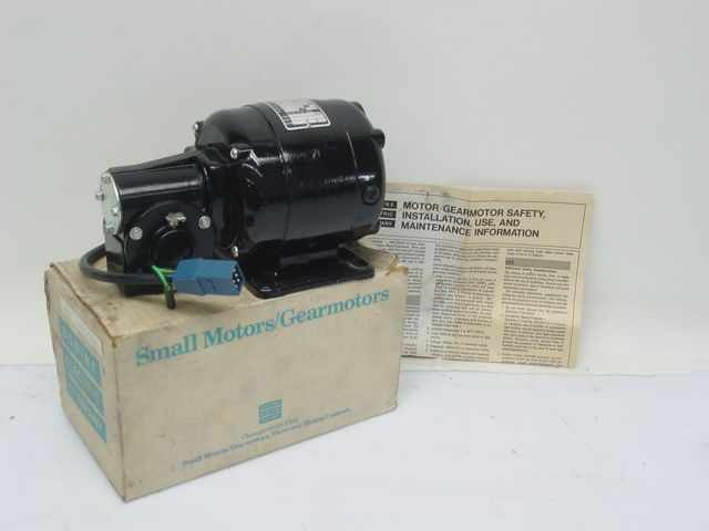 Bodine electric nsh-33R series 400 control motor 1/20HP