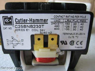 Cutler-HAMMER_DEFINITE_PURPOSE_CONTACTOR_C25BNB230T_NEW