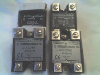 Gordos crouzet solid state relay G480D90 & G240A25