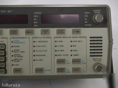 Hp 4935A transmission test set w/ opt 003 *calibrated*