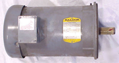 New baldor three phase electric motor VM3614T