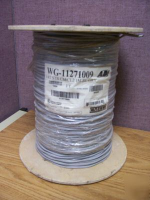New honeywell 14/2 stranded cm/CL2 wire - 1K spool - -