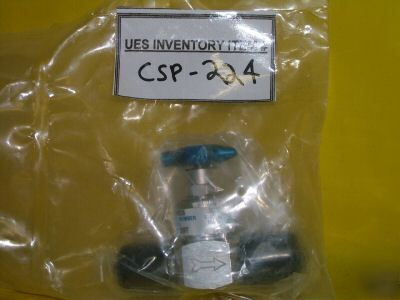 Veriflow 944MSFSFF high purity on/off valve *