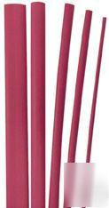 100' of 2:1 shrink ratio red heat shrink - 10 sizes