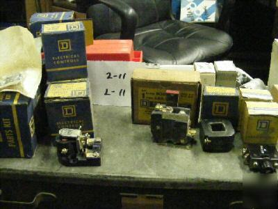 12 cutler hammer mixed lot relays and magnet coils
