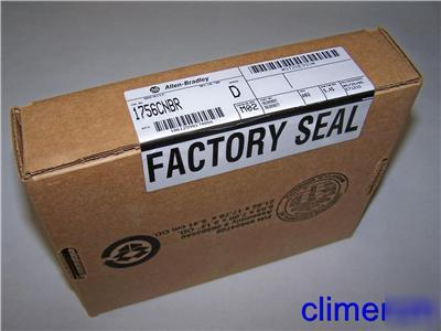 Allen bradley 1756-cnbr ser d factory sealed