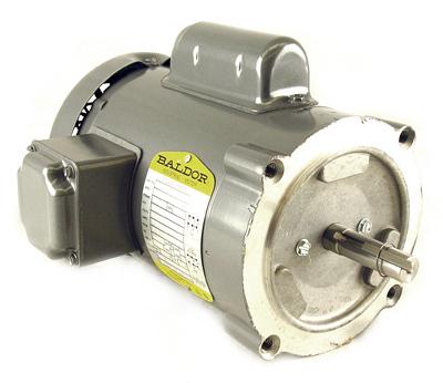 Baldor ac electric motor kl3400 1 6 hp 1725 rpm for 1 hp electric motor 1725 rpm