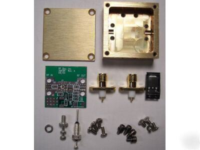 Designer kit for rf mmic amplifier with sot-86 package