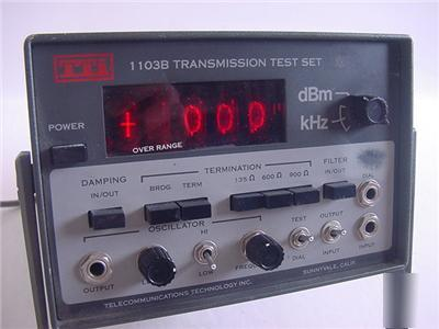 Tti 1103B transmission test set