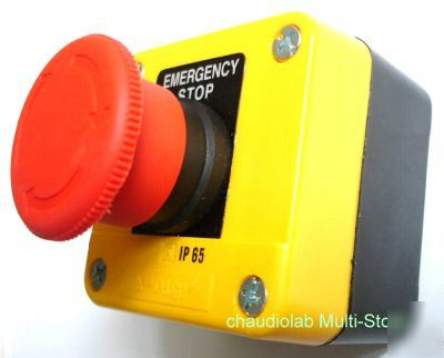 11X emergency stop pushbutton control station IP65 #229