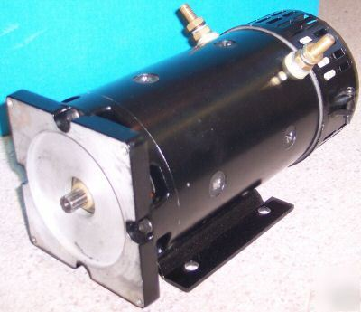 Electric Dc Motor 10 Hp 48 V Or 5 Hp At 24 V