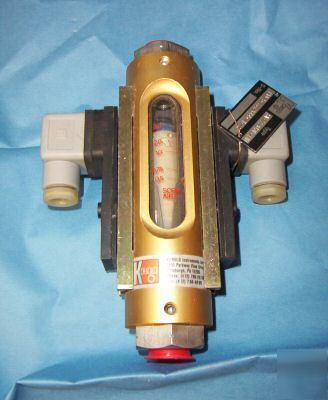 Kobold sv-7203L-bu float type flowmeter sv series