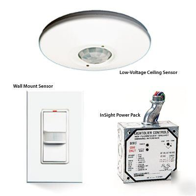 Lightolier IS2-600VA-w insight occupancy wall switch