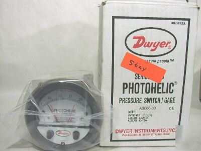 New dwyer A3000-00 photohelic switch A300000