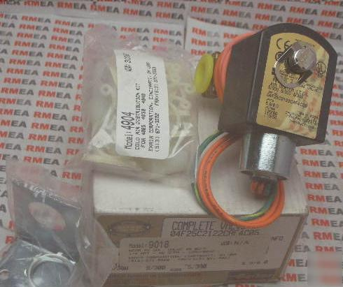 Parker hannifin solenoid valve air/water/lt. oil exair