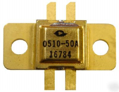 Rf-microwave transistor - 0510-50A