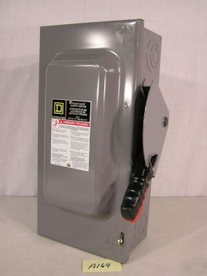 Square d H362 safety switch 60 amp disconnect (A164)