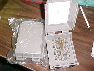Tii 169 series outdoor sealed wireterm enclosure lot/19