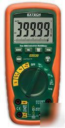 Extech ex 530 industrial multimeter, 4000 count