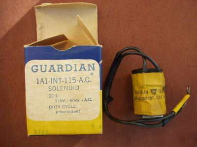 Guardian 1A1-int-115-a.c. solenoid
