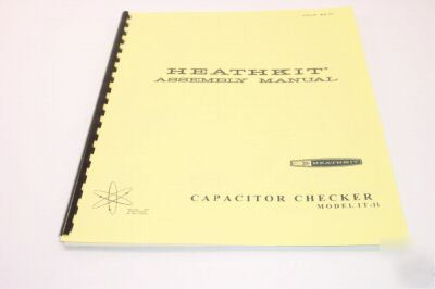 Heathkit it-11 (it-28) capacitor checker (exceptional)