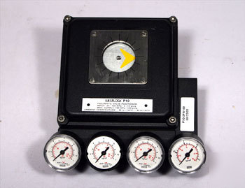 New westlock P10 pneumatic valve positioner