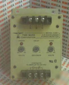 Time mark C269 3PH over/under power monitor 10A-240VAC