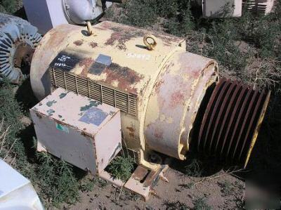 Westinghouse electric motor 250 hp 1180 rpm 449T 2300V