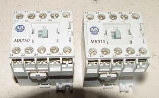 2PC allen bradley 700DC-MB310 relay