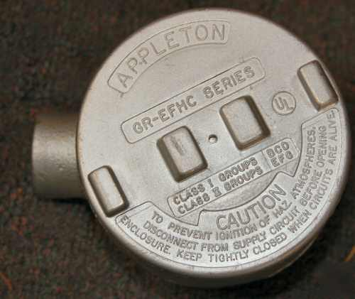 Appleton electric - 1/2